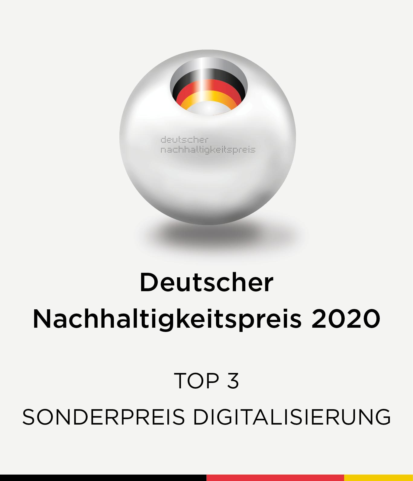 Deutscher Nachhaltigkeitspreis 2020
