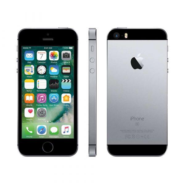 Apple iPhone SE 64GB space gray Smartphone Bastler