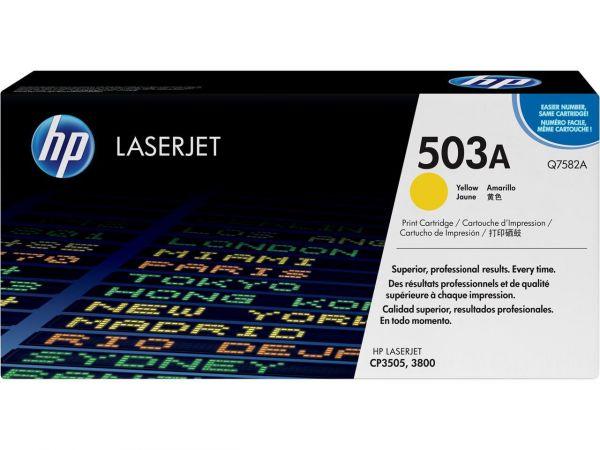 HP 503A Laser Toner yellow original