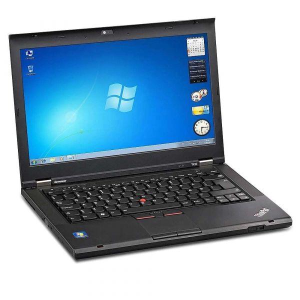 "Lenovo ThinkPad T430 i7-3520M 4GB 128GB SSD 14"" Windows 10 Laptop B-Ware"