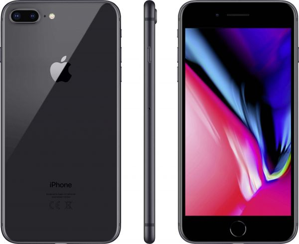 Apple iPhone 8 64GB space gray Smartphone (B)