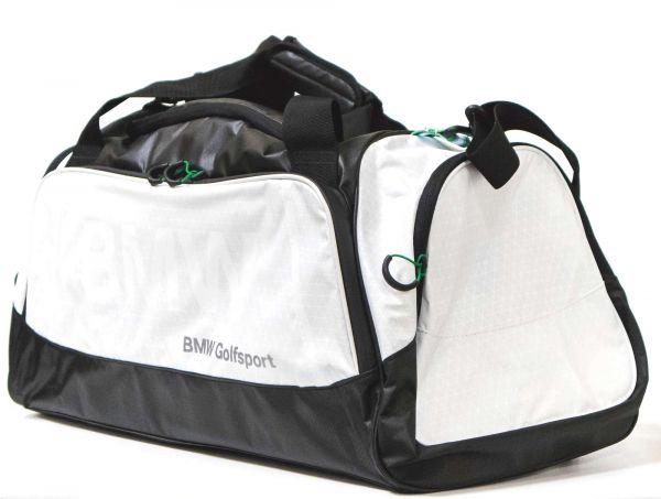 BMW Golfsport Sporttasche schwarz-weiß Sporttasche original BMW neu 80222285764