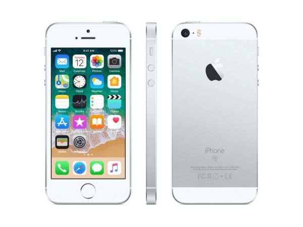 Apple iPhone SE 64GB silver Smartphone Bastler