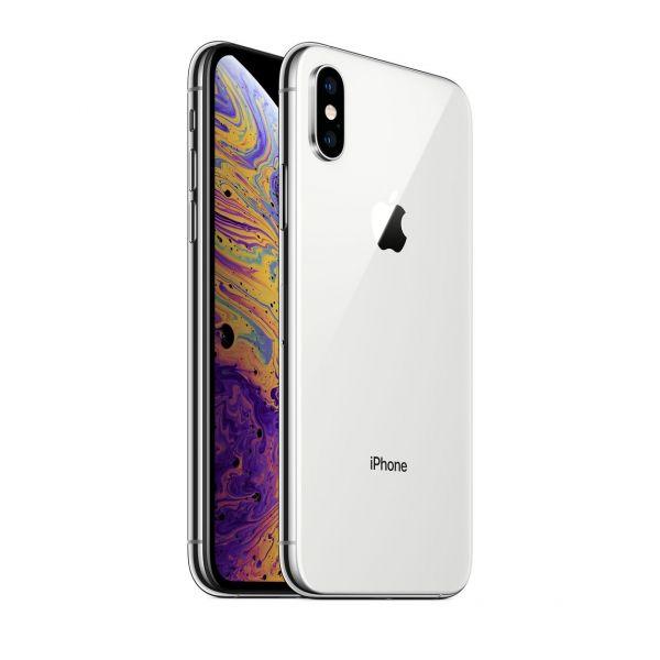 Apple Iphone XS 64GB silver Smartphone (C)