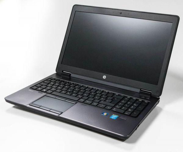 "HP Zbook 15 G2 i7-4810MQ 16GB 256GB SSD 750GB 15,6"" Laptop C-Ware/Bastler!"