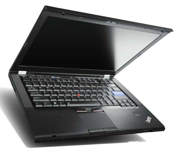"""Lenovo ThinkPad T420 i5-2450M 4GB 320GB 14"""" Laptop C-Ware/Bastler!"""